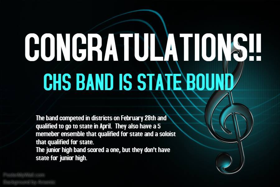 CHS Band Going to State