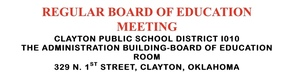 Regular  February Board Meeting
